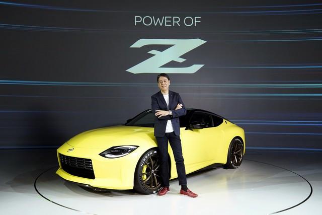 Le Nissan Z Proto : Inspiré Du Passé, Tourne Vers Le Futur 200916-01-056-source