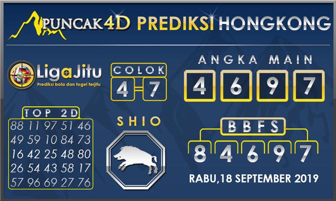 PREDIKSI TOGEL HONGKONG PUNCAK4D 18 SEPTEMBER 2019