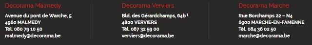 Decorama Malmedy, Verviers, Marche