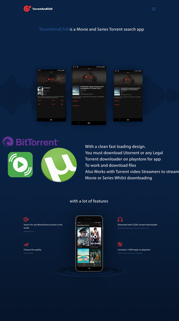 Torrent And Chill - Movie and Series Torrent search download app working with Utorrent - 1