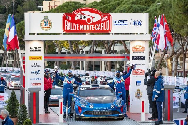Alpine réussit son retour au Monte-Carlo 2021-Rallye-de-Monte-Carlo