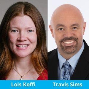 Lois Koffi & Travis Sims Photo