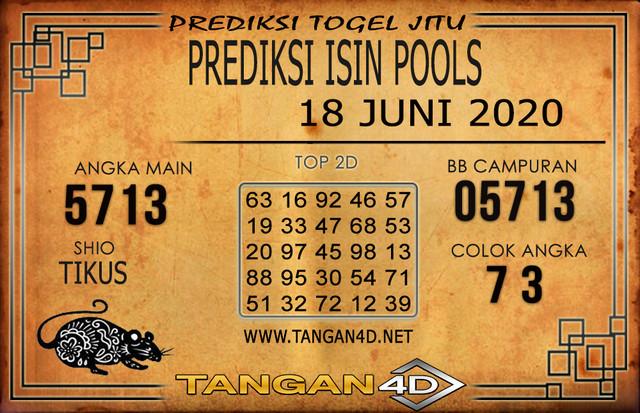 PREDIKSI TOGEL ISIN TANGAN4D 18 JUNI 2020