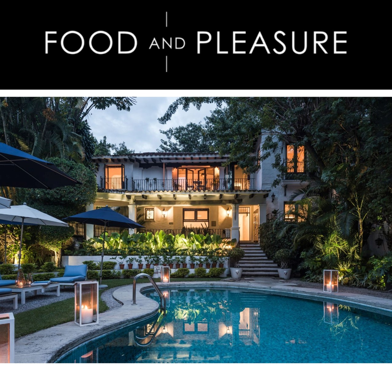 Featured on Food & Pleasure