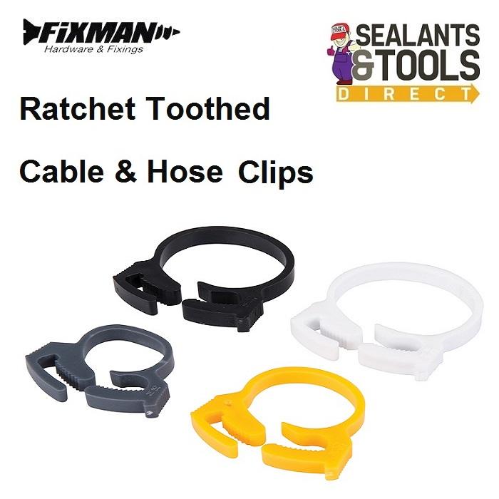 Fixman-Ratchet-Cable-Hose-Clip-154000