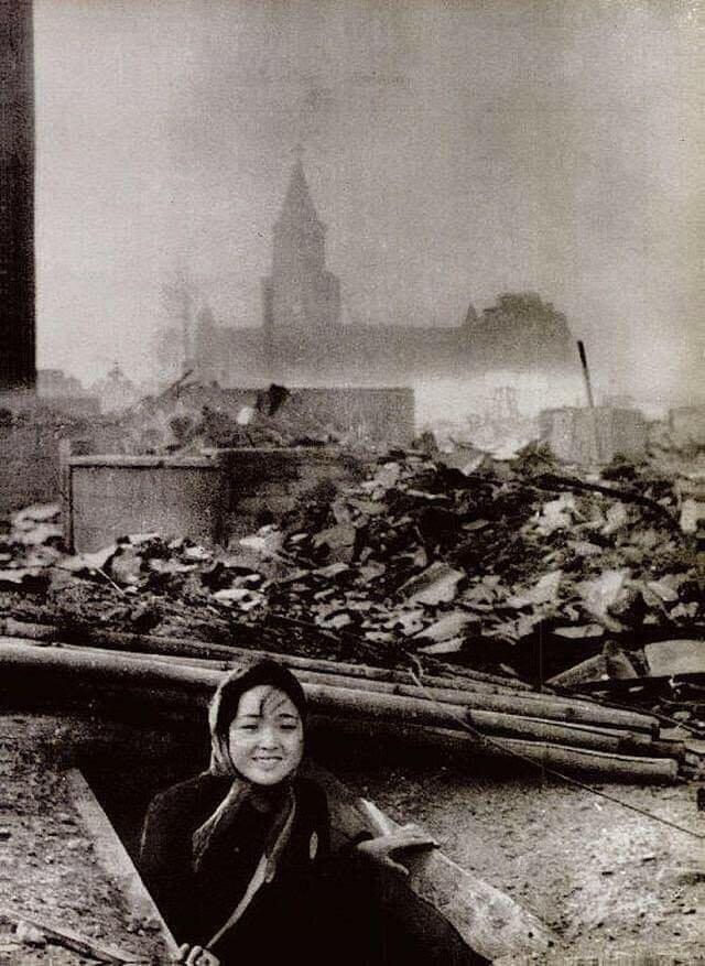 Женщина, пережившая бомбардировку Нагасаки