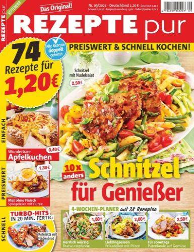 Cover: Rezepte Pur Magazin No 09 September 2021
