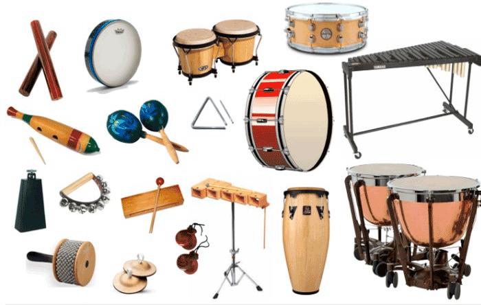 Las Familias De Instrumentos Musicales Viento Percusión Y Cuerda