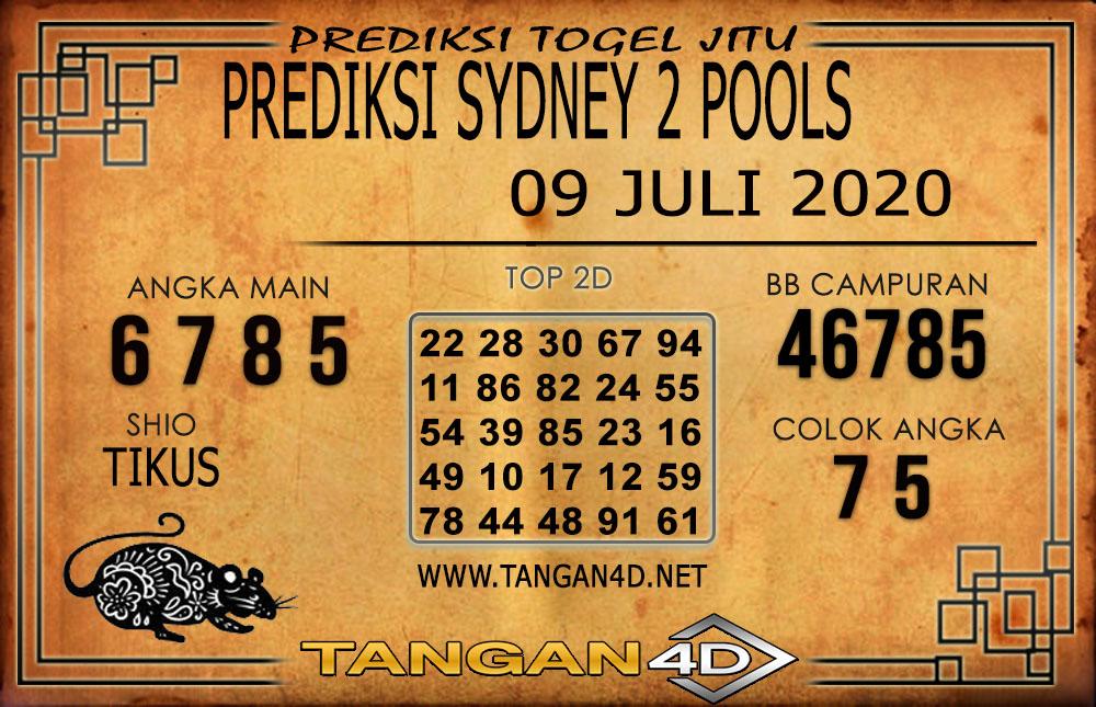 PREDIKSI TOGEL SYDNEY 2 TANGAN4D 09 JULI 2020