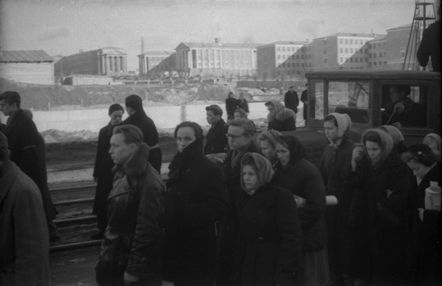 Dyatlov pass funerals 9 march 1959 14.jpg
