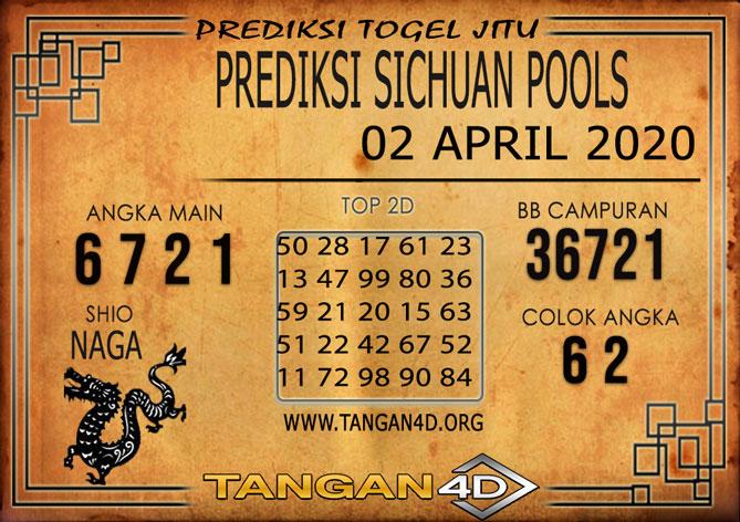 PREDIKSI TOGEL SICHUAN TANGAN4D 02 APRIL 2020