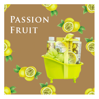 Bath Body and Spa Gift Sets in Relaxing Passion Fruit Fragrance Perfect for Women