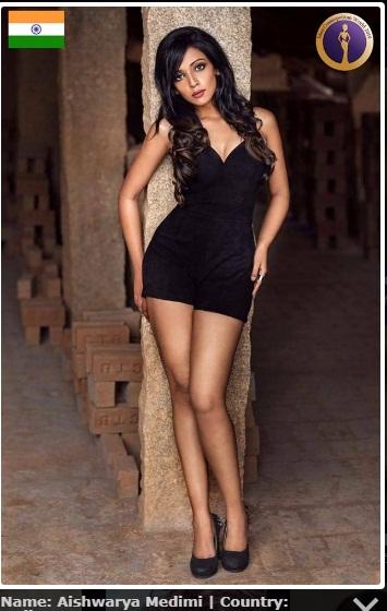 candidatas a miss cosmopolitan world 2019. final: 25 oct. Miss-india