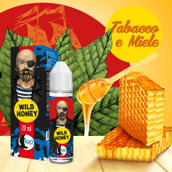 Aroma scomposto al gusto tabacco e miele