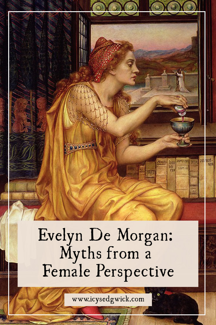 Victorian artist Evelyn De Morgan presented a new perspective of many mythological women in her work. Find out which figures she re-represented in her own way.