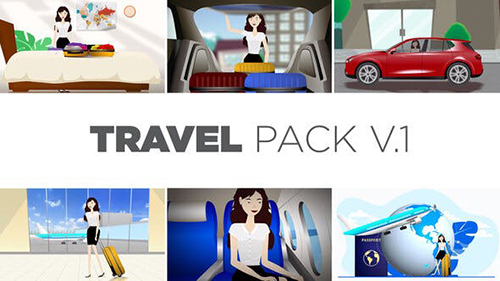 Travel Pack V.1 33843474 - Project for After Effects (Videohive)