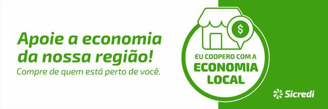 Apoie a economia de sua região, compre no seu comércio! Uma lembrança Sicredi Pampa Gaúcho