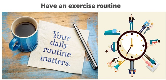 Have-an-exercise-routine