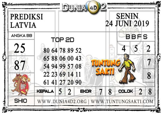 """Prediksi Togel """"LATVIA"""" DUNIA4D2 24 JUNI 2019"""