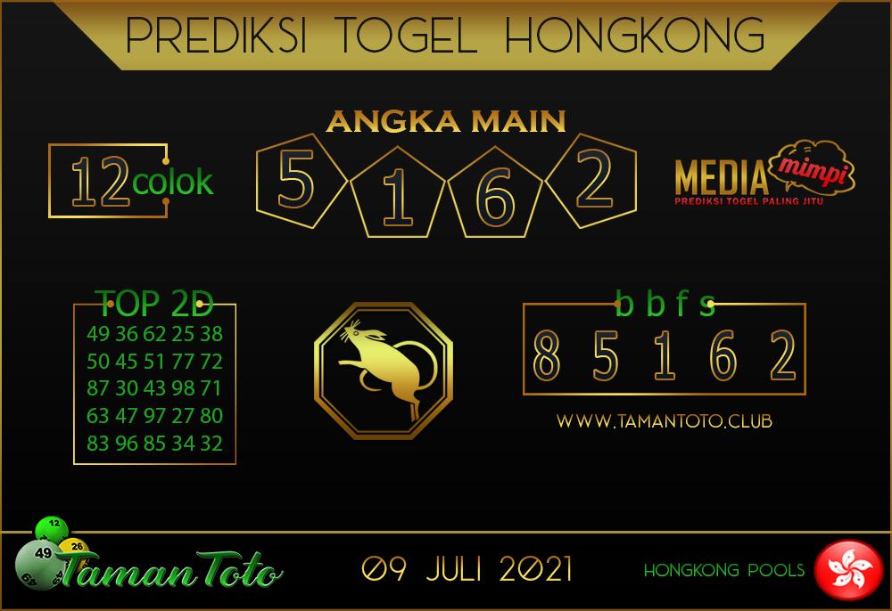Prediksi Togel HONGKONG TAMAN TOTO 09 JULI 2021