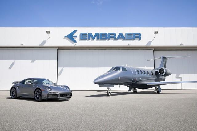 Haute performance sur terre et dans les airs: Porsche coopère avec Embraer S20-5306-fine