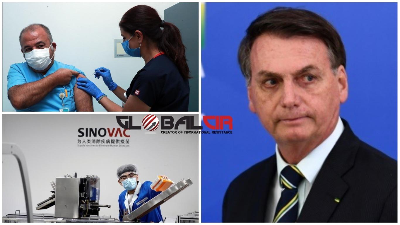 KINESKA VAKCINA SE TESTIRA U INDONEZIJI, PAKISTANU I TURSKOJ! Bolsonaro demantovao ministra zdravstva: Brazil neće kupovati kinesku vakcinu!