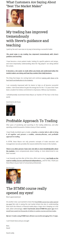 Steve Mauro Beat The Market Maker(SEE 3 MORE Unbelievable BONUS INSIDE!! Market Mastery Protege Program)