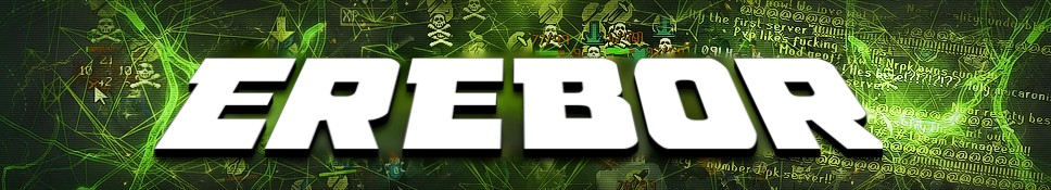 Erebor #181 Tournaments   Construction   Wilderness Events   Perfect PK   EESTI SERVER Logo2