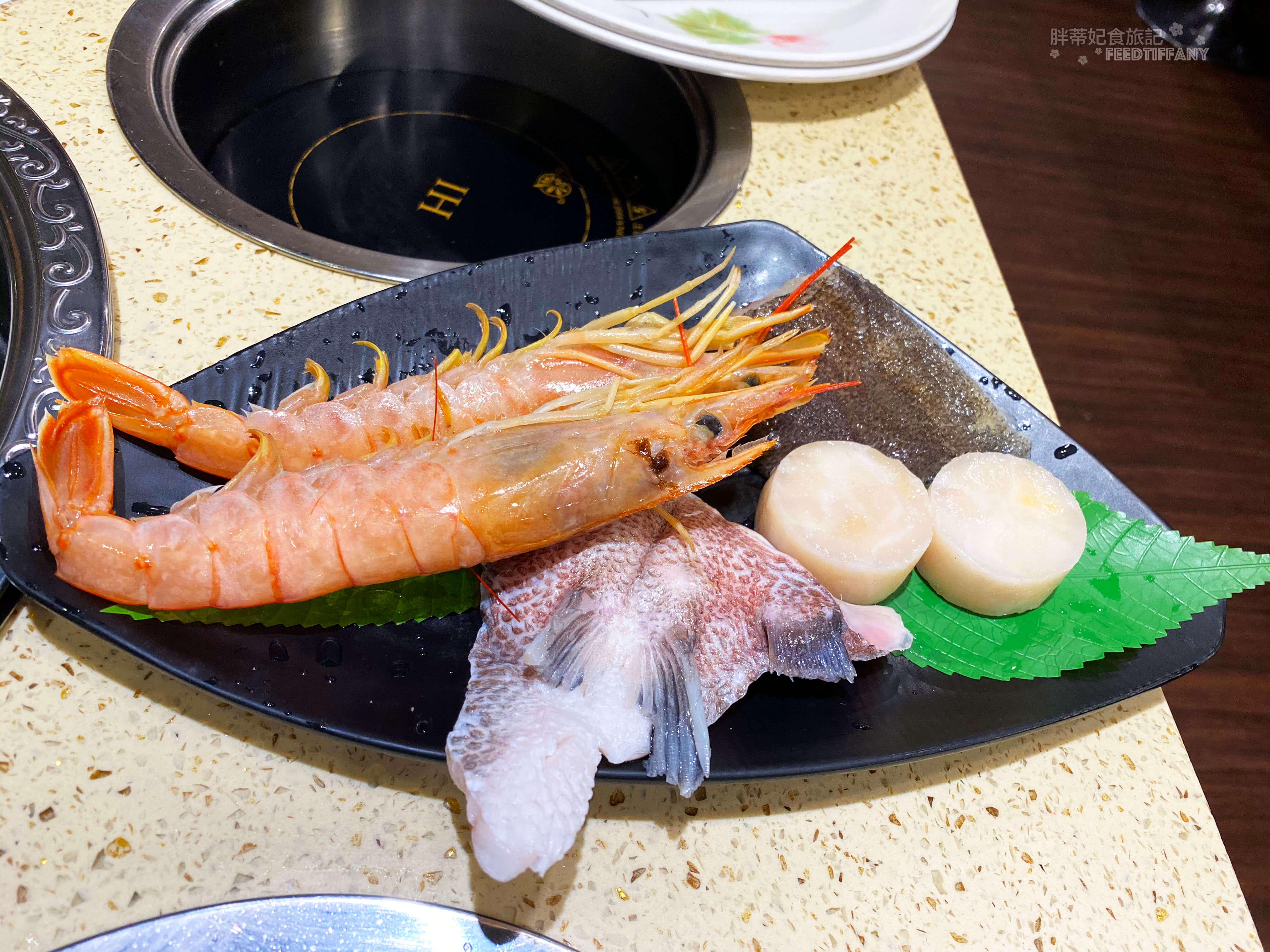 九牛一鍋 海鮮盤上桌