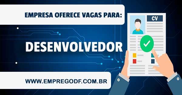 EMPREGO PARA DESENVOLVEDOR WEB