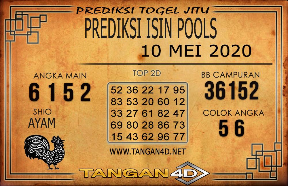 PREDIKSI TOGEL ISIN TANGAN4D 10 MEI 2020
