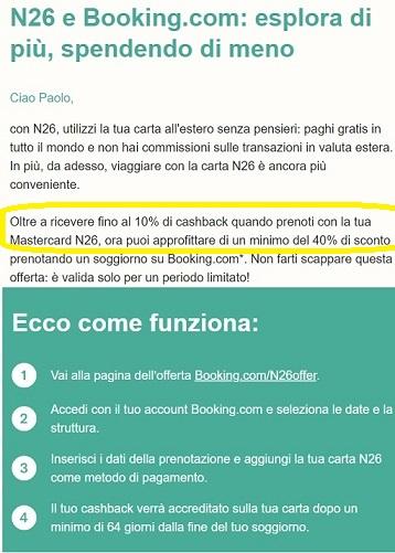 N26 10% Cashback di STATO + 5,00€+ addio spese su acquisti all'estero + Scegli PIN Carta! [Senza scadenza] - Pagina 2 N26-booking-1
