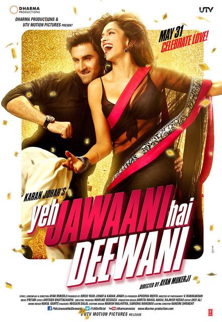 Yeh Jawaani Hai Deewani (2013) HQ 1080p Blu-ray x264 DTS-HDMA MSubs[DDR].mkv – 12.55 GB