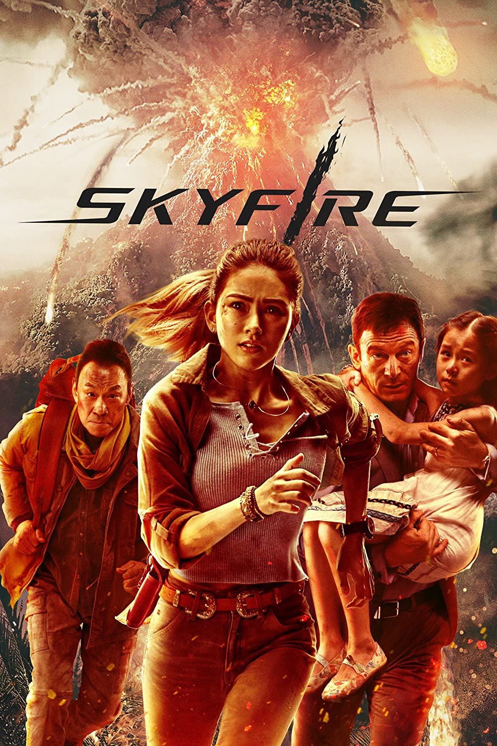 Skyfire (2021) Hindi Dubbed Movie HDRip 720p AAC