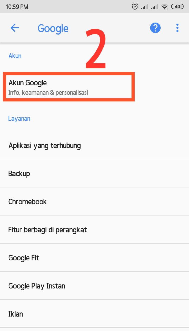 Cara menghapus aktifitas google secara otomatis