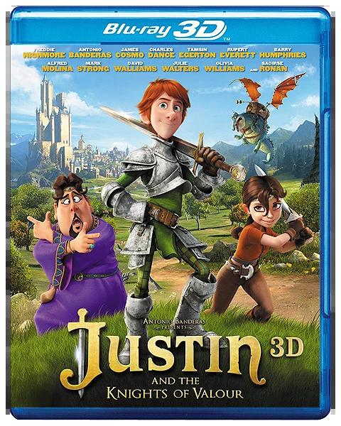 Justin and the Knights of Valour (2013) Dual Audio Hindi BluRay x264 AC3 300MB ESub 480p