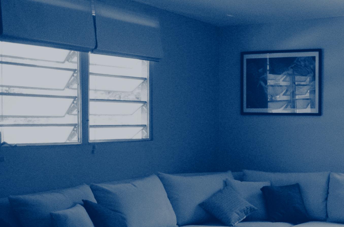 photo of indoor blinds