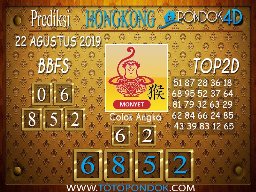 Prediksi Togel HONGKONG PONDOK4D 22 AGUSTUS 2019