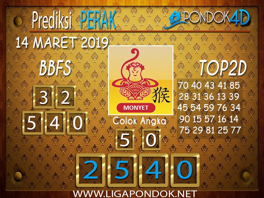 Prediksi Togel PERAK PONDOK4D 14 MARET 2019
