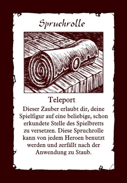 Spruchrolle-Teleport