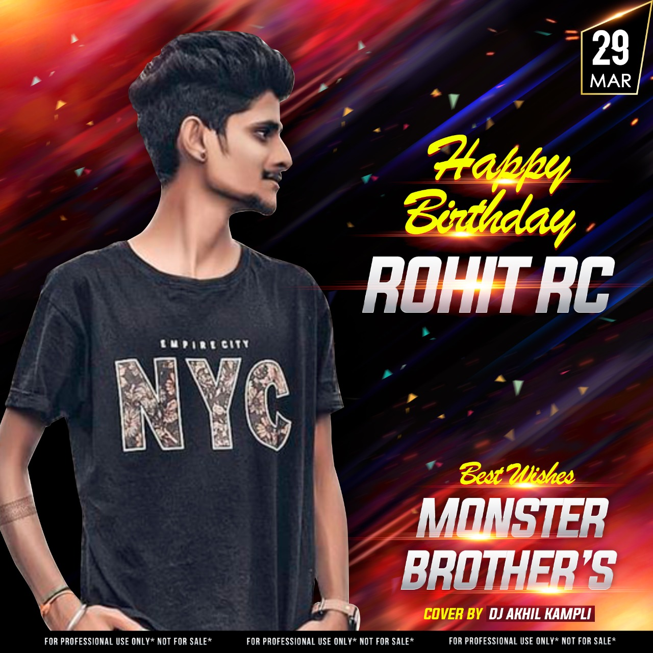 DJ ROHIT RC BIRTHADAY TRACK DJ MONSTER PS DJ AKHIL KAMPLI