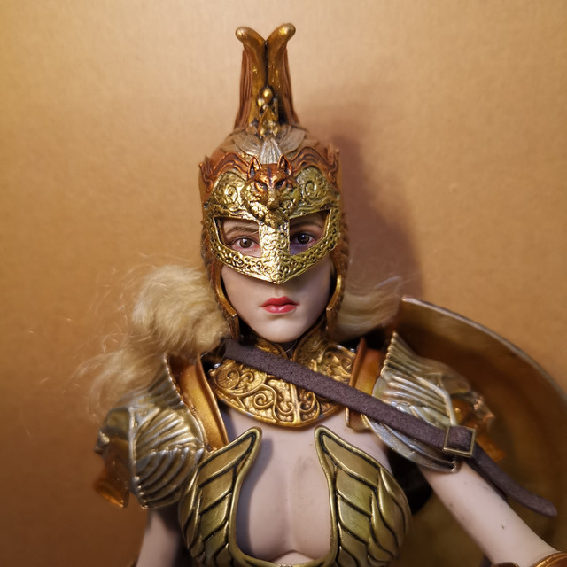 "NEW PRODUCT: COO MODEL X HOMER 1/6th scale PANTHEON - Hades Goddess of the Underworld 12"" Figure 21"
