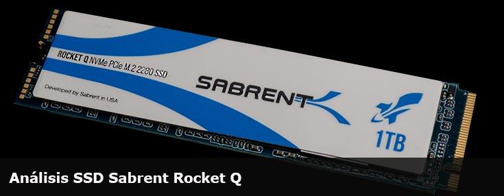 Análisis SSD Sabrent Rocket Q 1TB NVMe