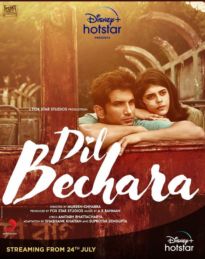 Dil Bechara (2020) Hindi 480p HDRIp Esubs DL