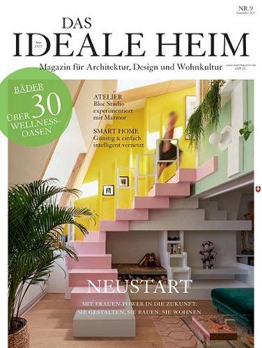 Cover: Das ideale Heim Spezial Magazin Umbauen + Renovieren No 09 2021