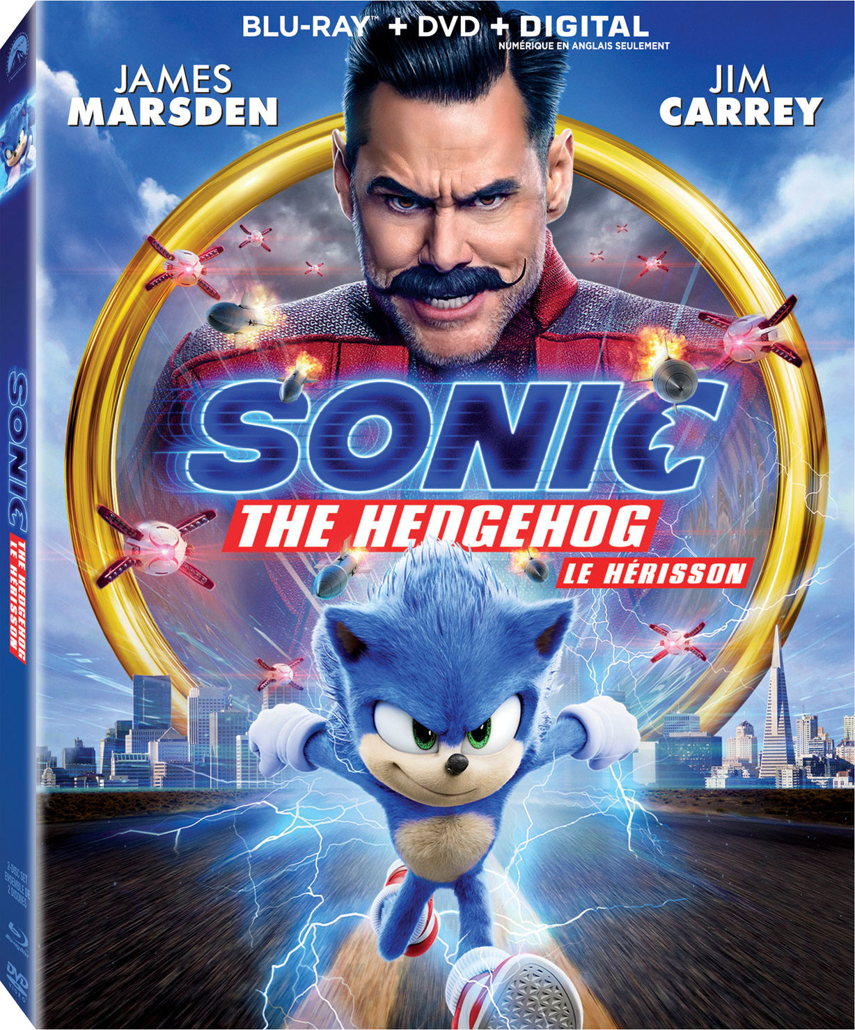 Sonic the Hedgehog (2020) 720p Hindi Dubbed ORG 1.2GB DL
