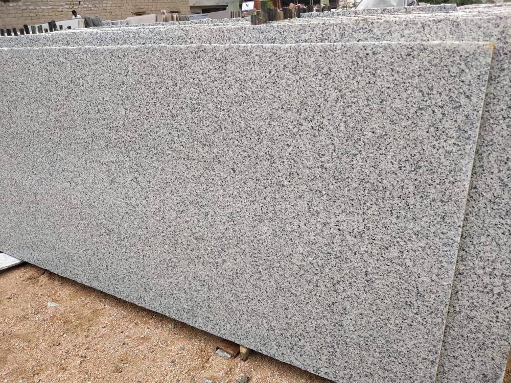 C White Granite Slabs