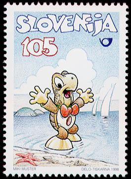 Slovenia stamps Strip-3