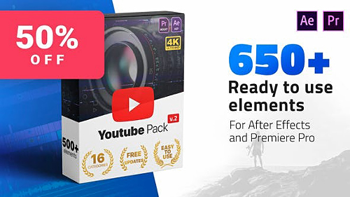 Youtube Pack V2 24980642 - Project for After Effects (Videohive)