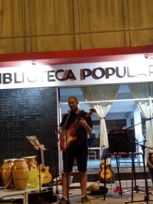 Locales: La Biblioteca se hizo música el viernes 28 de febrero